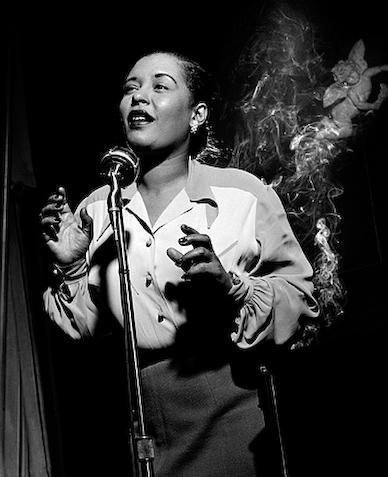 herman leonard - billie holyday - nyc - 1949
