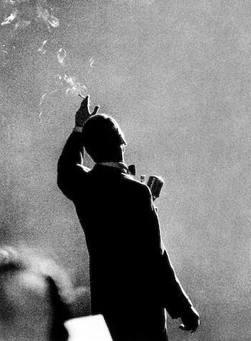 herman leonard - frank sinatra - monte carlo - 1958