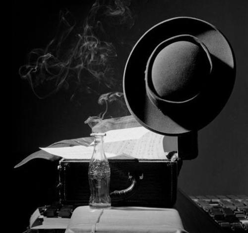 herman leonard - o chapéu de lester young - nyc - 1948
