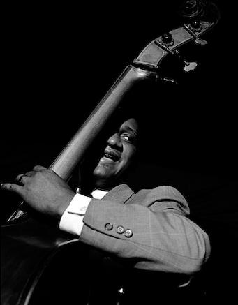 herman leonard - oscar pettiford - nyc - 1950
