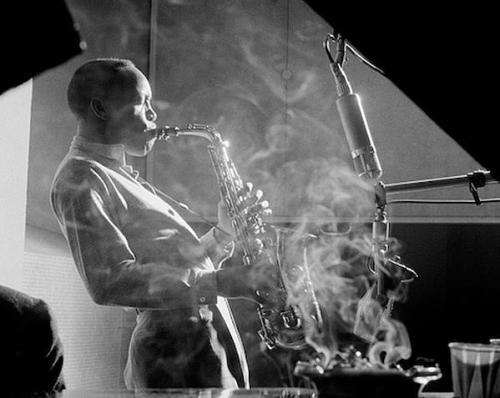 herman leonard - sonny stitt - nyc - 1953