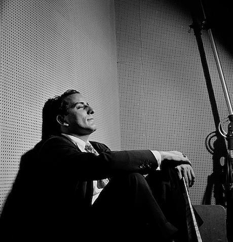 herman leonard - tony bennett - nyc - 1950