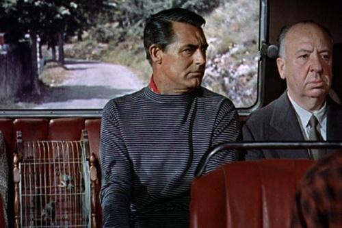 hitchcock cameo - ladrão de casaca (1955)
