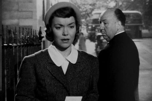 hitchcock cameo - pavor nos bastidores (1950)