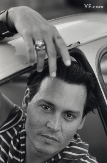 johnny depp by François-Marie Banier 4