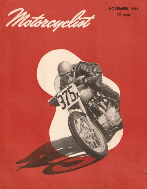 motorcyclist 1953