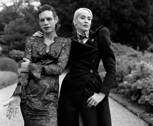 Brigitte Lacombe - Mick e Angela Jagger