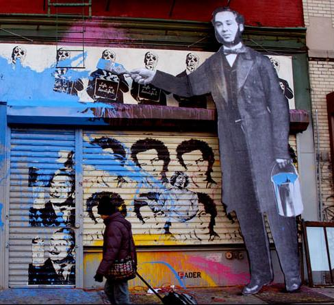 Mr Brainwash - Rua
