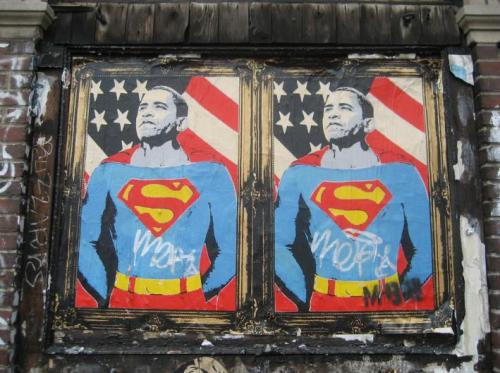 Mr Brainwash - Super Barack Obama 01