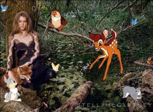 Stella McCartney e Bambi (Disney) 01