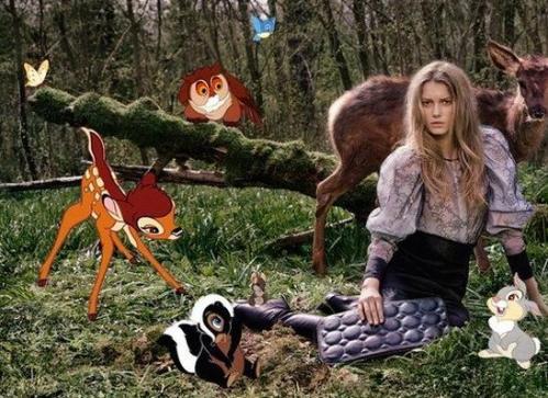 Stella McCartney e Bambi (Disney) 02
