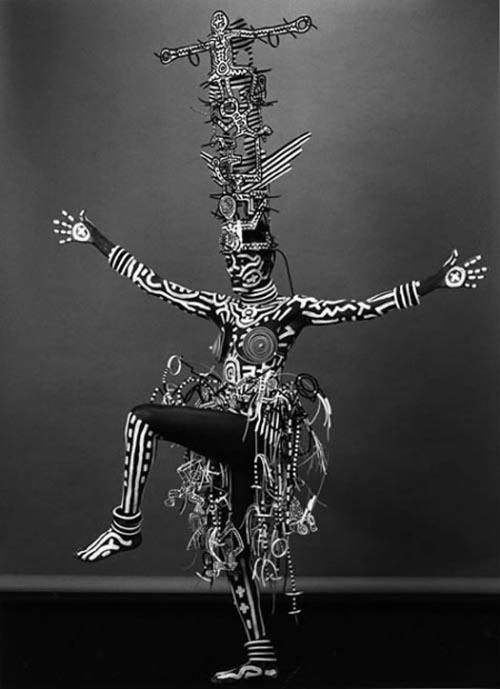 Grace Jones by Keith Haring e Robert Mapplethorpe