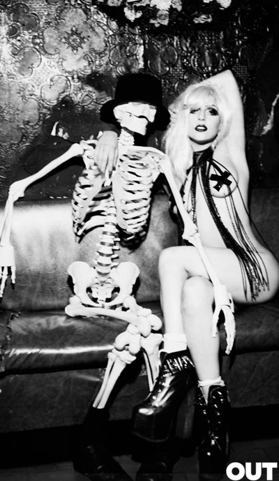 Lady Gaga by Ellen Von Unwerth 04
