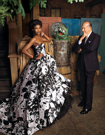 Oscar de la Renta e Oscar the Grouch by Jason Schmidt