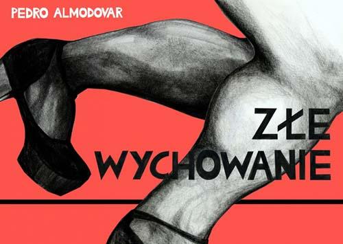 Pôsteres de cinema poloneses - A má educação