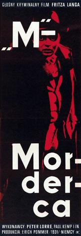 Pôsteres de cinema poloneses - M