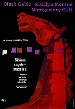 Pôsteres de cinema poloneses - Os desajustados