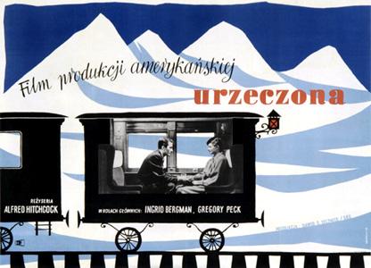 Pôsteres de cinema poloneses - Quando fala o coração