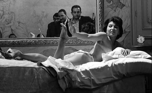 Quadrro dentro do quadro - L'oeil du malin - de Claude Chabrol - 1962