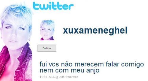 Xuxa no Twitter