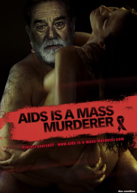 AIDS is a mass murderer - Saddam Hussein