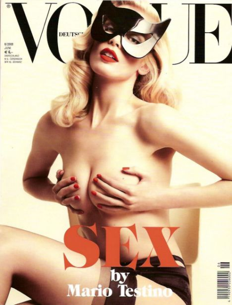 CLAUDIA SCHIFFER - GERMAN VOGUE