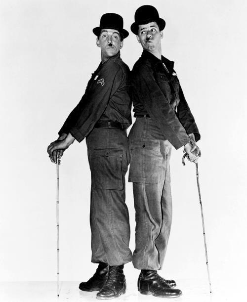 chaplin - Dean martin & Jerry Lewis